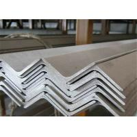 Quality Easy Welded Stainless Steel Angle Bar , Brushed Stainless Steel Angle  Hot Rolled wholesale