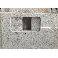 Quality Giallo Sf Real Solid Granite Worktops For Kitchen / Bathroom White Color wholesale