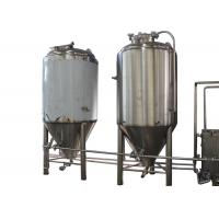 Quality 5BBL Semi-Automatic Industrial Beer Brewing Equipment With Top Manway wholesale