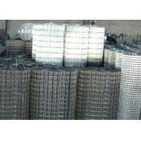 China 10x10 10 Gauge Welded Wire Mesh Hot Dipped Galvanized For Protection on sale