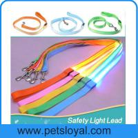 Quality LED Lighted Dog Leash Night Safety Training Pet Lead Leashes wholesale