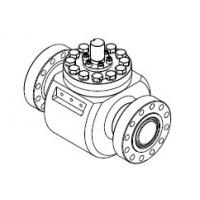 """China Ball Valve  FB, Trunnion Mounted, HO Type 6BX, 1-13/16"""" RTJ #10000 Material A182 F51 API6A on sale"""