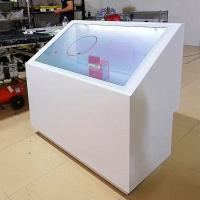 China Tempered Glass Transparent LCD Screen For Toy Store , Design Center on sale