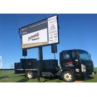 Slim Led P6mm Mobile Billboard Car Led Display Screen For Public Relations Activities