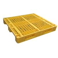 Quality Euro type HDPE single faced grid 9 feet plastic pallet wholesale