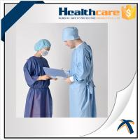 China Medical Disposable Surgical Head Cover With Single Elastic And Absorbable Tape on sale