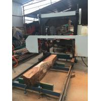 Electrical/ Diesel Engine portable sawmill horizontal band wood saw mills MJ1000/MJ1300/MJ1600