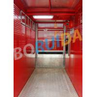 Cheap Electric Construction Material Lifting Hoist Single Cage , Building Lift for sale