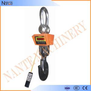 Quality 56mm LED Display Crane Hook 10ton - 50ton , Digital Calibration wholesale