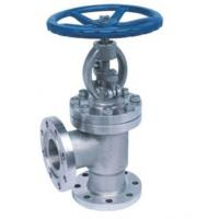 Quality Angle Globe Valve OS Y Type Rising Stem Bolted Bonnet Construction wholesale