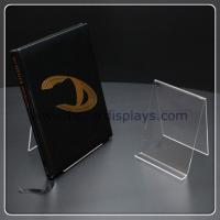 Crystal Large Book Display Stand for sale