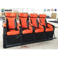 Quality 4 Seat Per Set 4D Movie Theater Cinema Equipment Customize Color Motion Chairs wholesale
