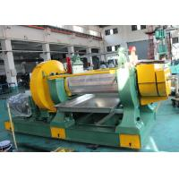 Quality Durable Rubber Mixing Mill Machine , High Efficiency Rubber Compounding Equipment wholesale