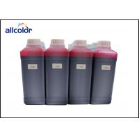 Quality Polyester / Paper Compatible Water Based Fabric Ink , Waterproof Textile Printing Ink wholesale