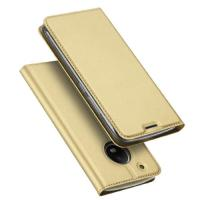 Quality Slim PU + TPU Leather Phone Cases with stand for Moto G5 , Rose Gold Blue wholesale