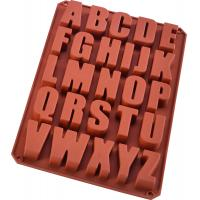 China Eco Friendly Silicone Ice Cube Trays 26 Cavities Alphabet Silicone Baking Mold on sale
