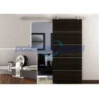 2000mm Decorative Door Hardware Stainless Steel Wood Sliding Barn