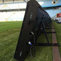 China Sports Perimeter Led Display Advertising Boards P8/10/16 5500-8000 Nits With Fast Joint Design on sale