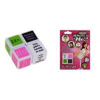 Quality Custom Funny Adult Dice Games Plastic Sex Toys For Man And Woman wholesale