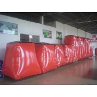 Quality Red Paintball Field Equipment Inflatable Paintball Bunker wholesale