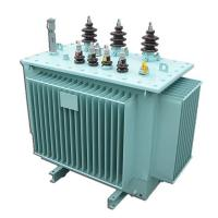 China 11kv Electrical Power Transformer Oil Type With Transformer Oil Level Gauge on sale