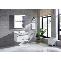 Quality Modern Washbasins PVC Bathroom Vanity With Metal DTC Runners And Hinges wholesale