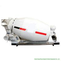 Quality Compact Custom Truck Bodies 6 - 8m3 Concrete Mixer Truck Body With Italy Mixing Pump wholesale
