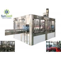 Quality Fully Automatic Water Filling Machines 5 Gallon Barrel / Bottle Washing Capping wholesale