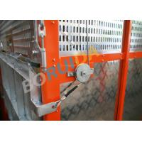 Quality Q235 / Q345 Steel Car Cage Hoists For Building, 380V 50Hz Or 60Hz Power wholesale