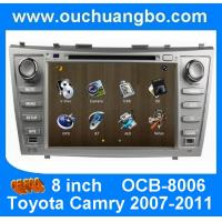 Quality Wince 6.0 car Stereo Sat Nav for Toyota Camry 2007-2011 with auto radio gps double din DVD Player OCB-8006 wholesale