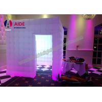 Cheap Inflatable Wedding Decorations Inflatable Photo Booth LED Event Lighting for sale