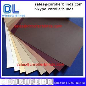 Quality Plain Blackout Roller Blinds with match color wholesale