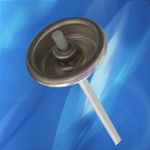 Quality Car spray paint cans / hair spray cans Aerosol valve , Tail orifice ф0.080 wholesale