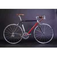 Quality Caliper brake Chrome steel 27 inch 700c racing bicycle/bike with Shimano speed and Cowhide seat wholesale
