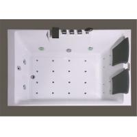 China Square Freestanding Whirlpool Bathtubs , Whirlpool Jet Tubs For Small Bathrooms on sale