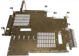 China Brushing Finish 0.002mm Ra3.2 Sheet Metal Bending Parts on sale