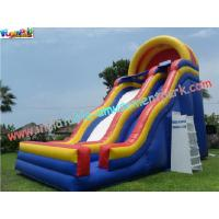 Quality Professional Giant slide with durable PVC tarpaulin Commercial Inflatable Slide for Child wholesale