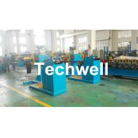 Quality Rotary Double Head Mandrel Manual Uncoiler / Decoiler With Weight Capacity Of 3 / 5 Ton wholesale