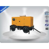 Quality 144kw / 180kva  Diesel Trailer Generator Easy Moving Powered By Perkins Engine wholesale