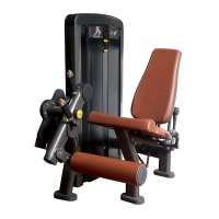 Quality CE Full Gym Equipment Muscle Leg Extension Curl Training Machine wholesale