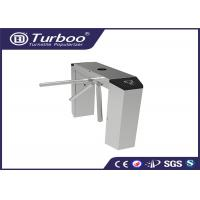 Quality Automatic Tri - Channel Playground Security Turnstile Gate With Card Reader wholesale
