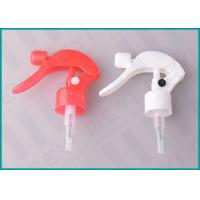 Quality 24mm Colorful Trigger Spray Nozzle Ribbed Closure Hand Pressure Trigger Sprayers wholesale