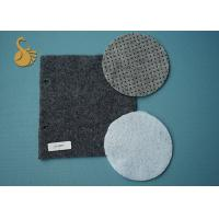 Quality Eco Non Woven Needle Punched Felt Polyester Fabric Rolls With Pvc Dots wholesale