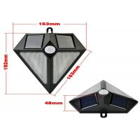 Quality Powerful 6 Led Motion Sensor Solar Lights Outdoor One Year Warranty wholesale