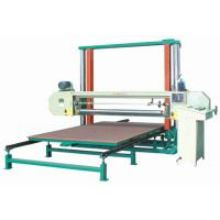 Quality Automatic Horizontal Polyurethane / PU Foam Cutting Machine For Sponge Sheet wholesale