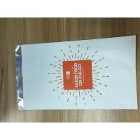 China Kraft Paper Lined Foil Inside Roast Chicken Packaging Bags Customized Design on sale