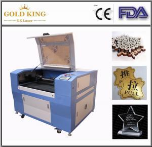 GK-9060 RECI 90W laser cutting machine