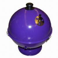China Charcoal Barbecue Grill with 0.7mm Steel Plate Thickness, Measures 35.5 x 35.5 cm on sale