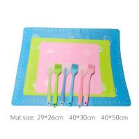Quality Best Oven Cooking Pastry Living Utensil Professional Cake Flexible Silicone Baking Mat wholesale