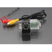 Quality 8 LED HD CCD Night Vision Backup Camera , Volkswagen Polo Reverse Camera wholesale